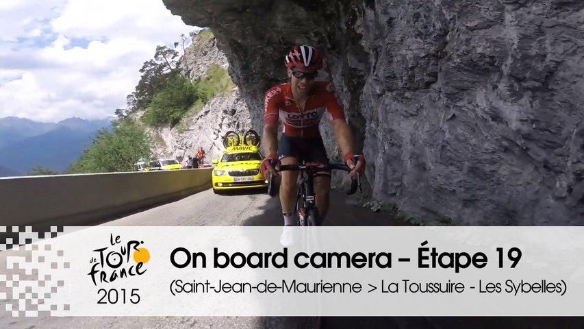 Caméra embarquée / On-board camera - Stage 19 (Saint-Jean-de-Maurienne / La Toussuire - Les Sybelles) - Tour de France 2