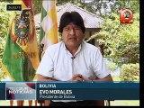 Evo Morales: teleSUR, herencia comunicacional de Hugo Chávez