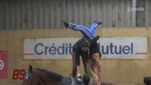 Vendée. Equitation : Découverte de la voltige équestre