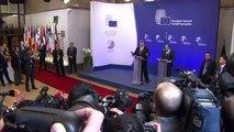 EUCO - Press statements by EU Council President Donald Tusk & Ukrainian President Petro Poroshenko