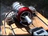 ATJ 120 Ti all new version turbine jet engine ,RC jet , Gas