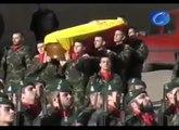 El Principe Felipe preside en Barcelona el funeral por el soldado John Felipe Romero