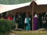Germanwings: cérémonie en hommage aux victimes, quatre mois après le crash