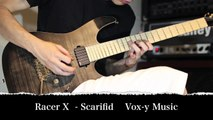 Scarified - Racer X    Guitar Cover