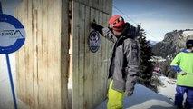 Freestyle ski jib contest - Red Bull Jib Ski Kings 2012