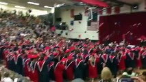Shane's Graduation - Throwing Hats In The Air
