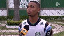 Gabriel Jesus revela ídolo no futebol e sonha em ser exemplo para jovens