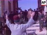 Iraq - Saddam Hussein visits Northern Iraq
