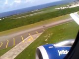 JetBlue 1798 taking off from Santo Domingo (SDQ)- JetBlue 1798 Despegando desde Santo Domingo (SDQ)