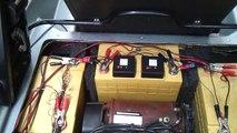 Umbau eines Mini-El / City El von Blei auf Lithium Technologie