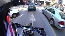GasGas 250cc 2stroke Supermotard ON BOARD Alcoy (Spain)