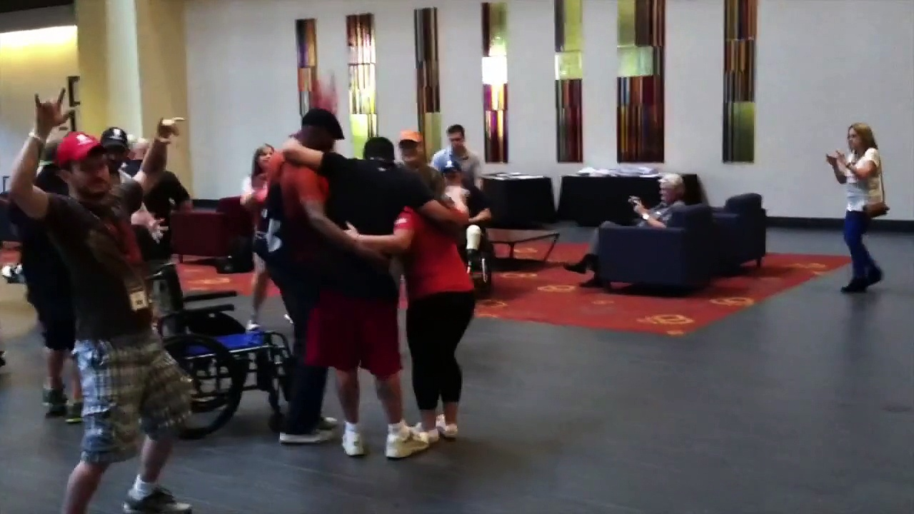 WWP Physical Health & Wellness Expo Flashmob