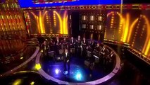 The Ukulele Orchestra of Great Britain with Robbie Williams and Ant & Dec April 2014