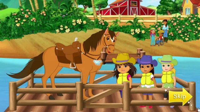 Dora and Friends Legend of the Lost Horses - Nick Jr Game Video For Kids