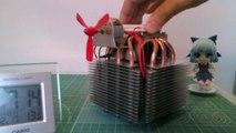 温度差発電機(ペルチェ素子を使用した小型体温発電機)