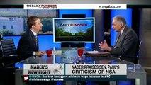 Ralph Nader: Hillary Clinton is a Militarist & Corporatist