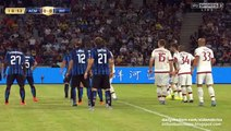 Milan header chance - Inter Milan v. AC Milan - International Champions Cup 25.07.2015