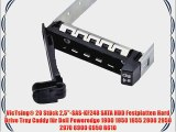 VicTsing? 20 St?ck 25-SAS-KF248 SATA HDD Festplatten Hard Drive Tray Caddy f?r Dell Poweredge