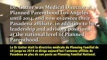 PLANNING FAMILIAL USA NÉGOCIATION PRIX D'ORGANES DE FOETUS  FÉVRIER 2015