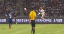 P. Mexès marque une incroyable reprise de volley ciseau  | AC Milan vs Inter 1-0 ( Champions Cup 2015 )