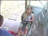 Me Bungee jumping Nevis 134m!! New Zealand