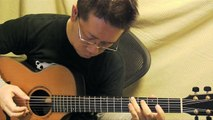 """""""Cosmo Canyon"""" from Final Fantasy VII (acoustic guitar solo)"""