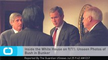 Inside the White House on 9/11: Unseen Photos of Bush in Bunker