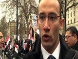 United Egyptians - Downing Street, London. 6.2.11