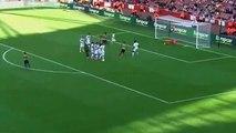 Santi Cazorla free kick goal Arsenal 6-0 Lyon 25-07-2015