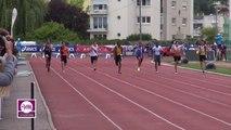 Finale 100 m Espoirs Garçons