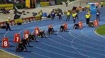 Zharnel Hughes 20.32 200M Class 1 BOYS Semi-final 2 Boys & Girls Champs Jamaica 2014