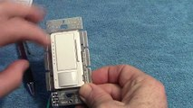 Lutron MSCL OP153M Occupancy Sensor Switch With Dimmer Review + Programming Instructions