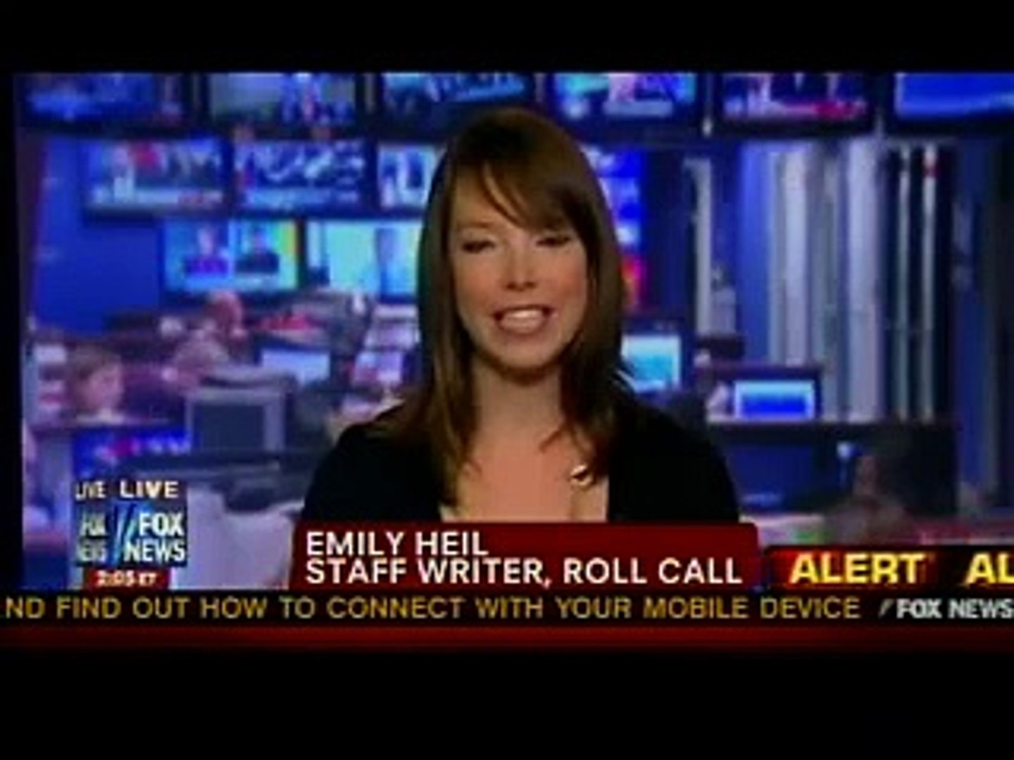 Roll Call's Emily Heil on Fox News Channel August 13, 2011