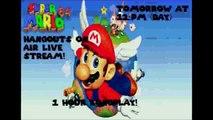 Super Mario 64 hangouts on air livestream