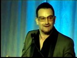 Bono Receives the RFK Ripple of Hope Award (Pt 1.)