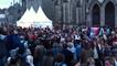 Cornouaille 2015. La place Saint-Co, noire de monde !