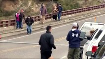 Raw: Yellowstone Tourists Chased by Bears