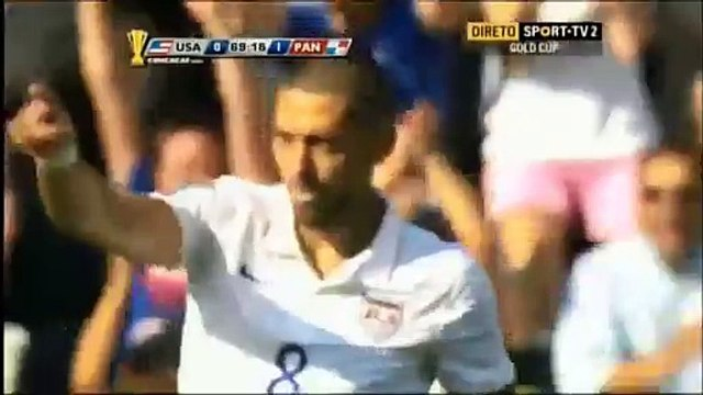 1-1 Clint Dempsey Goal CONCACAF Gold Cup Third Place - 25.07.2015, USA 1-1 Panama