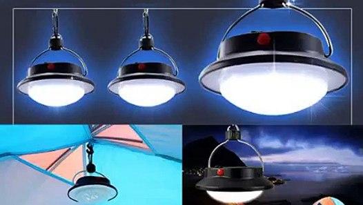 SUBOOS Ultra Bright Portable LED Tent Light The 60 LED Camping Lantern Gr...