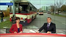 Nehoda trolejbusu v Brně