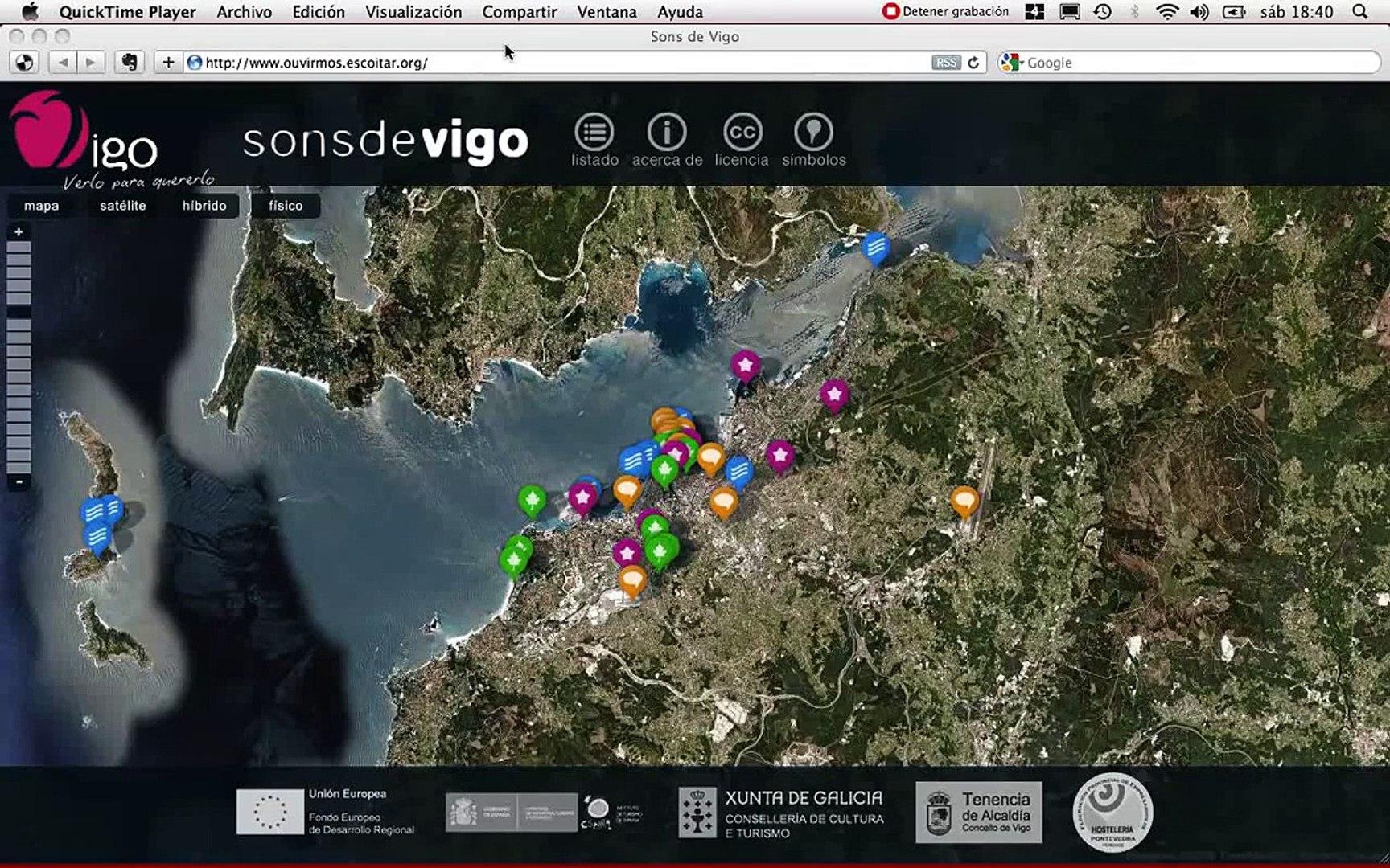 Mapa sonoro de Vigo (Escoitar.org)
