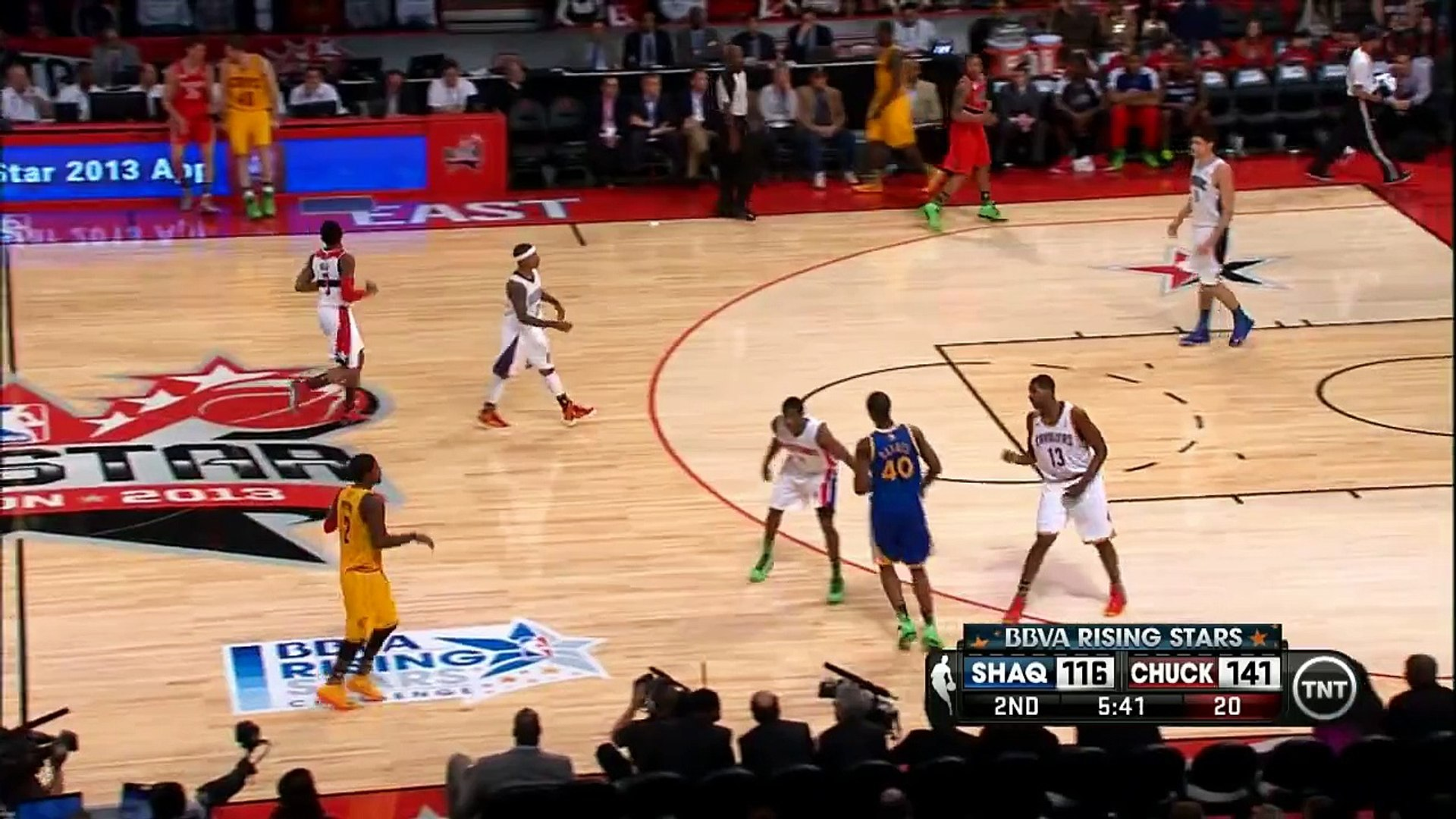 Kyrie Irving's ankle-breaking moves on Knight! - video Dailymotion