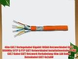 40m CAT.7 Verlegekabel Gigabit 10Gbit Netzwerkkabel CAT.7 1000Mhz SFTP S/FTP CAT7 Netwerkkabel
