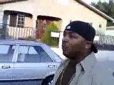 lil wayne runs away and calls the cops on  40 glocc