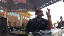 Atlanta Falcons RB Devonta Freeman With Dukes & Bell on 92-9 The Game at Falcons Training Camp