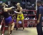 Muay Thai Women knock out!! TIGER มวยไทย