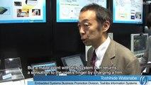 Touchpanel Tactile Feedback - Toshiba New Sensation UI Solution : DigInfo
