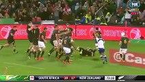 Rugby Championship - All Blacks - l'essai de Richie McCaw face aux Springboks