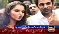 Indian Star Cricketer Yuvraj Singh's Reaction On Dance of Sania Mirza And Shoaib Malik Video VideoWord.pk