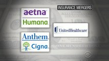 Big mergers for health insurance companies